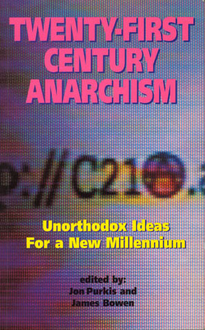 book cover for Twenty-first Century Anarchism
