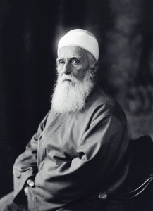 Abdu'l-Bahá circa1912. Reproduced with permission of the Bahá'í International Community.