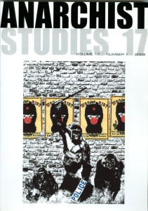 Cover of Anarchist Studies No.17 Vol.11.