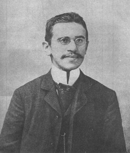 photo of Otto Weininger in 1903