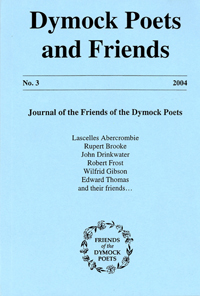 Journal cover, Dymock Poets and Friends No.3